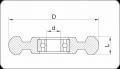 Колело за транспортна количка (Код: ТМТ) - Изображение 2